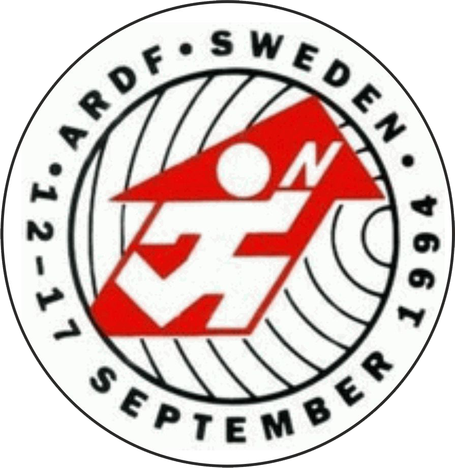 logo 7th word ardf 1994